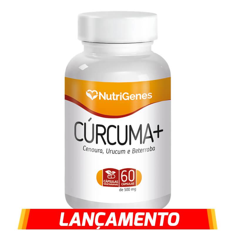 Cúrcuma+ 60 cápsulas | Nutrigenes