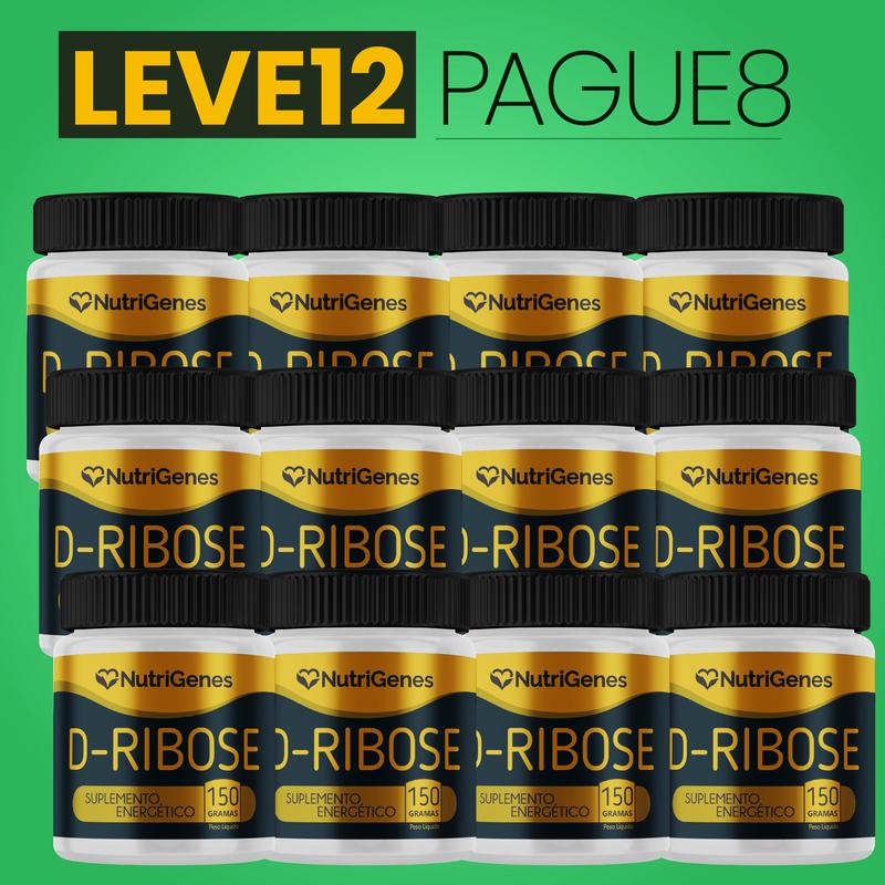D-Ribose 150 g | Nutrigenes - Leve 12, Pague 8