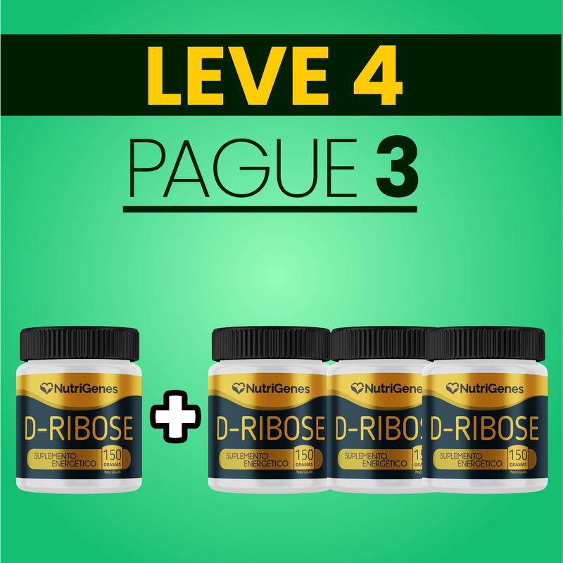 D-Ribose 150 g | Nutrigenes - Leve 4, Pague 3
