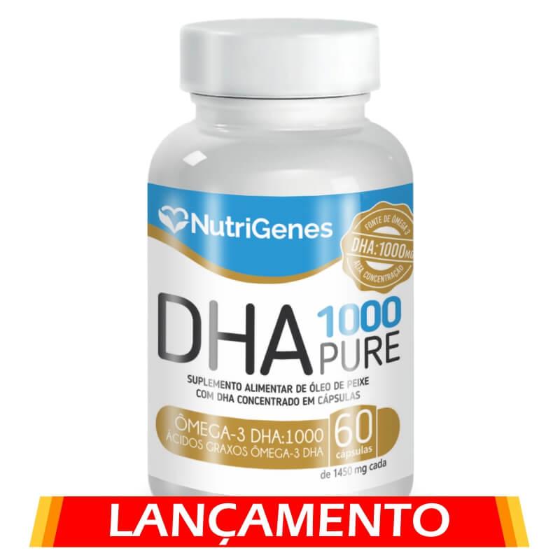 DHA Pure 1000 60 cápsulas | Nutrigenes