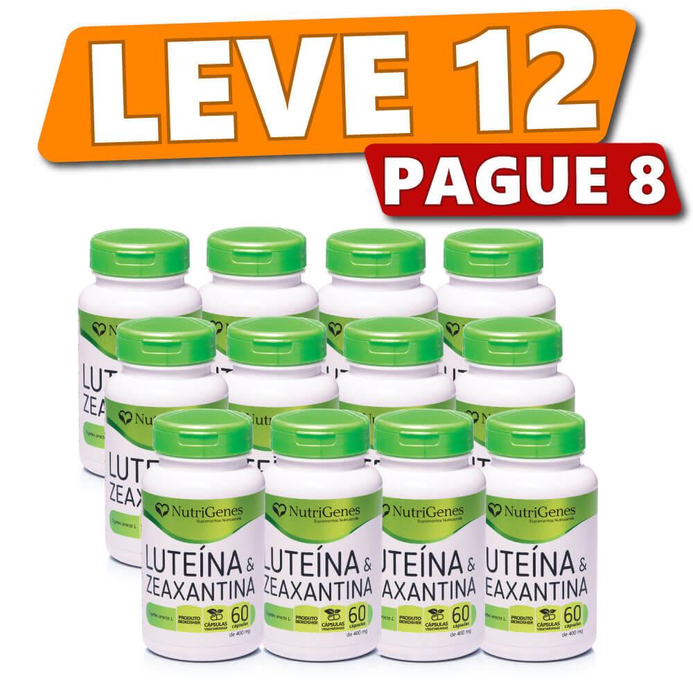 Luteína & Zeaxantina (12 Produtos)