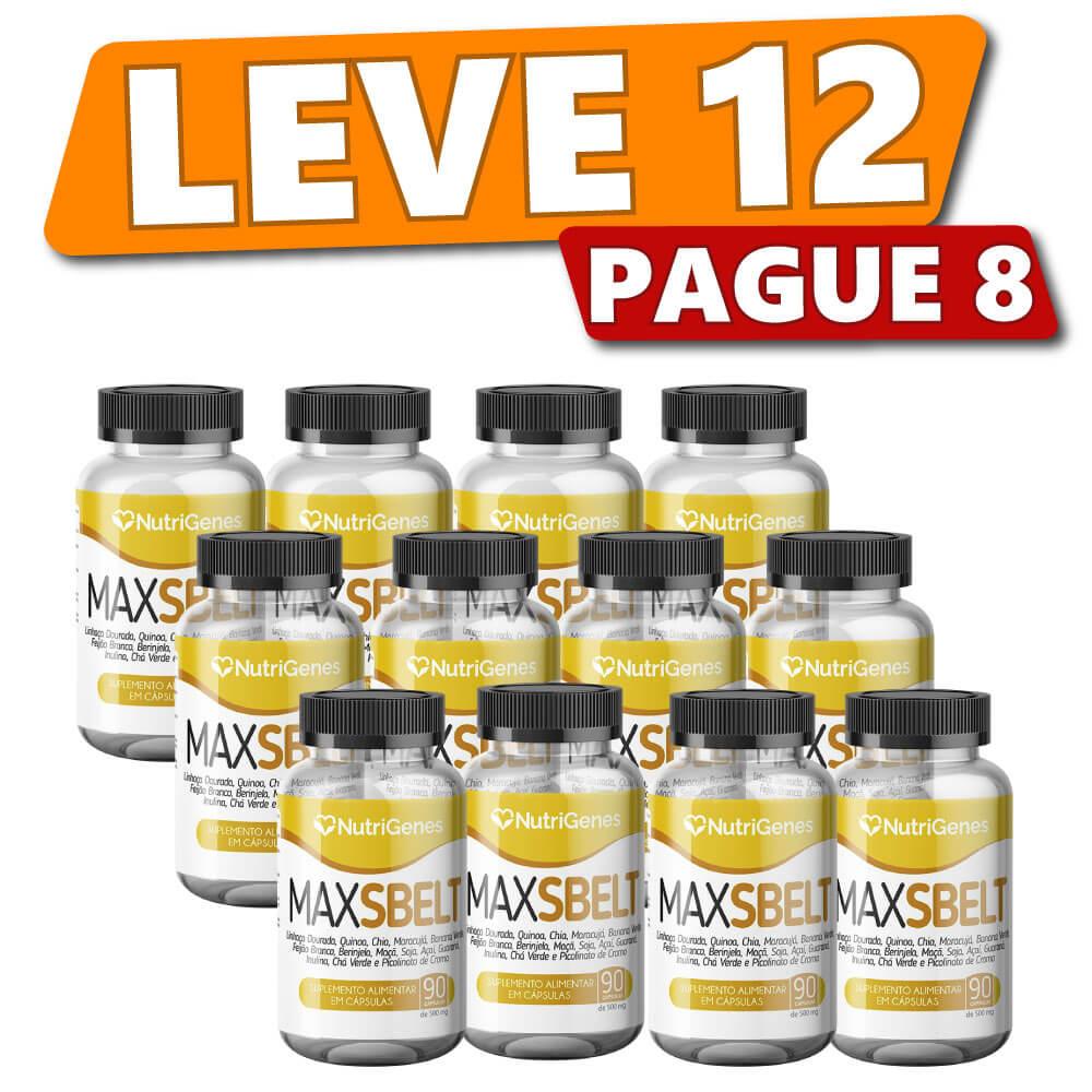 Max Sbelt 90 cápsulas   Nutrigenes - Leve 12, Pague 8