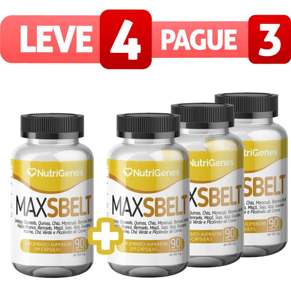 Max Sbelt 90 cápsulas | Nutrigenes - Leve 4, Pague 3