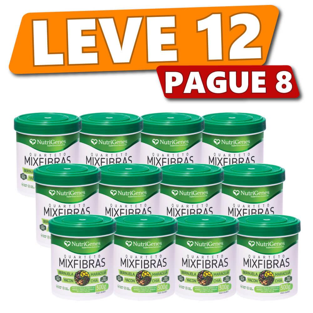 Quarteto MixFibras 300 g | Nutrigenes - Leve 12, Pague 8