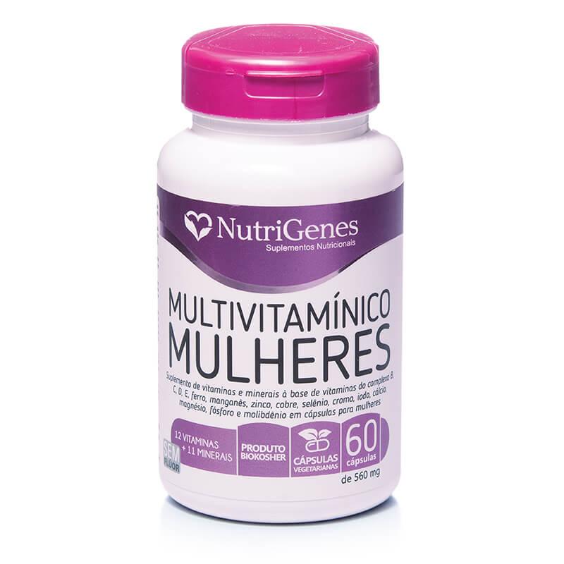 Multivitamínico Mulheres 60 cápsulas | Nutrigenes