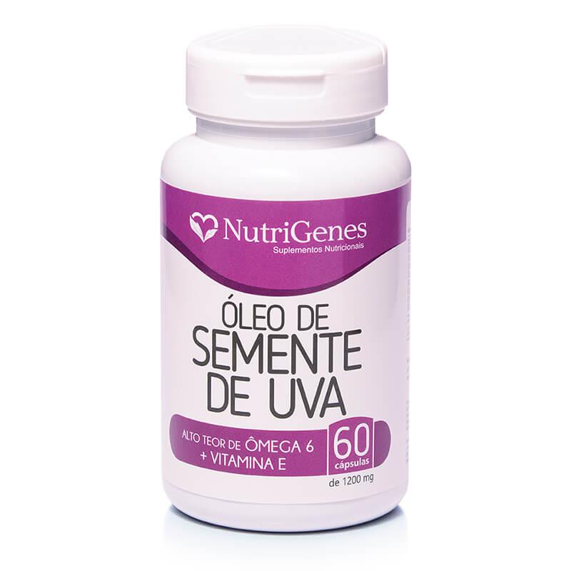 Óleo de Semente de Uva 60 cápsulas | Nutrigenes