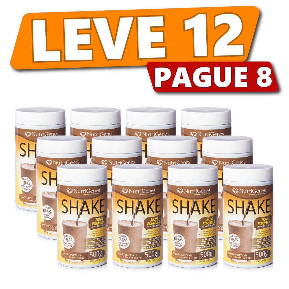 Shake Sabor Chocolate (12 Produtos)