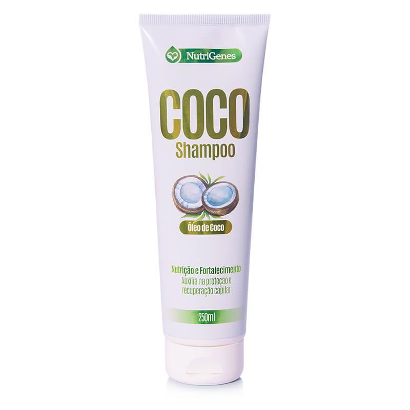 Shampoo de Coco 250 ml   Nutrigenes