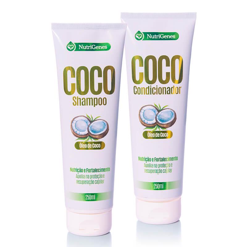 Shampoo e Condicionador de Coco