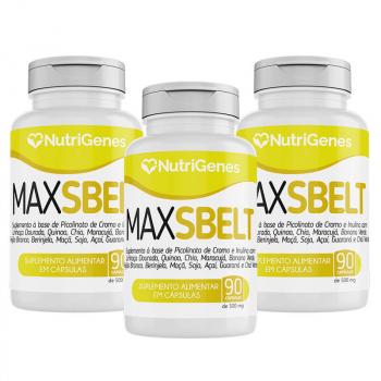 03x Max Sbelt 90 cápsulas | Nutrigenes