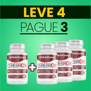 Cerebron 90 cápsulas | Nutrigenes - Leve 4, Pague 3
