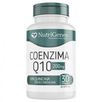 Coenzima Q10 200 mg 30 cápsulas | Nutrigenes