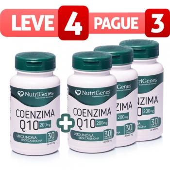 Coenzima Q10 200mg 30 Cápsulas - Leve 4, Pague 3