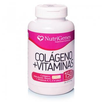 Colágeno com Vitaminas 150 cápsulas | Nutrigenes