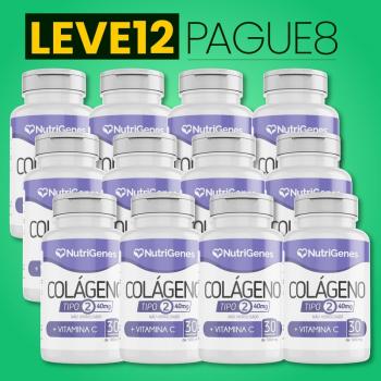 Colágeno Tipo 2 30 comprimidos | Nutrigenes - Leve 12, Pague 8
