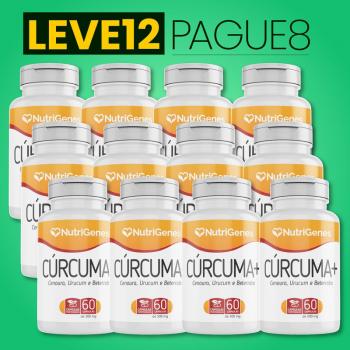 Cúrcuma+ 60 cápsulas | Nutrigenes - Leve 12, Pague 8