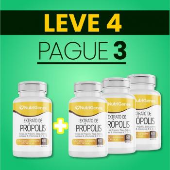 Extrato de Própolis 60 cápsulas | Nutrigenes - Leve 4, Pague 3