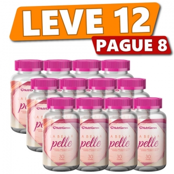 La Bella Pelle 30 gomas   Nutrigenes - Leve 12, Pague 8