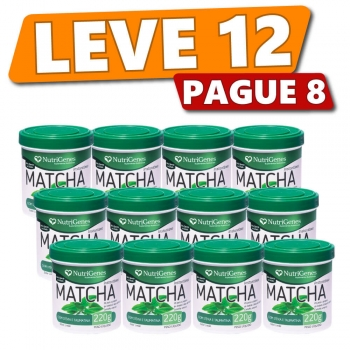 Matcha 220 g | Nutrigenes - Leve 12, Pague 8
