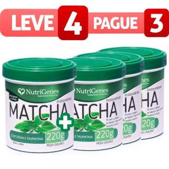 Matcha Instantâneo - Leve 4, Pague 3