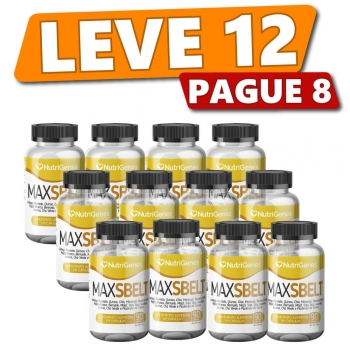 Max Sbelt 90 cápsulas | Nutrigenes - Leve 12, Pague 8
