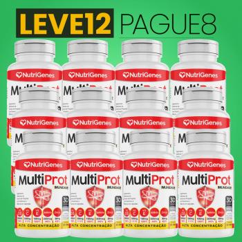 Multi Prot 30 cápsulas | Nutrigenes - Leve 12, Pague 8