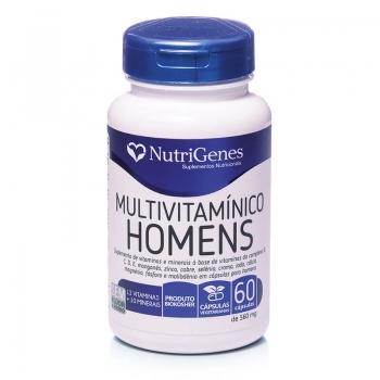 Multivitamínico Homens 60 cápsulas | Nutrigenes