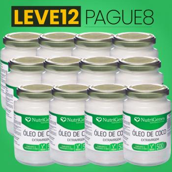 Óleo de Coco 500 ml | Nutrigenes - Leve 12, Pague 8