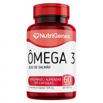 Ômega 3 Óleo de Salmão 60 cápsulas | Nutrigenes