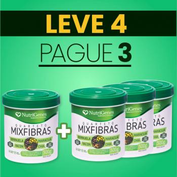Quarteto MixFibras 300 g | Nutrigenes - Leve 4, Pague 3