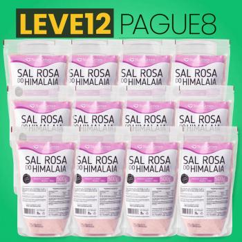 Sal Rosa do Himalaia Moído Fino 500 g | Nutrigenes - Leve 12, Pague 8