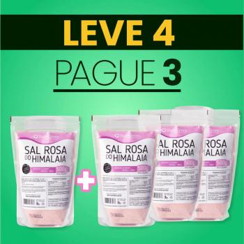 Sal Rosa do Himalaia Moído Fino 500 g | Nutrigenes - Leve 4, Pague 3