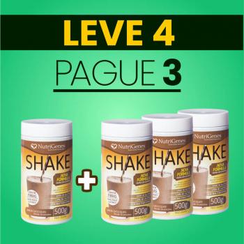 Shake Sabor Chocolate 500 g | Nutrigenes - Leve 4, Pague 3