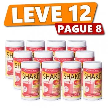 Shake Sabor Morango (12 Produtos)