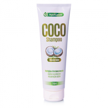 Shampoo de Coco 250 ml | Nutrigenes