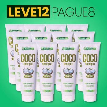Shampoo de Coco 250 ml | Nutrigenes - Leve 12, Pague 8