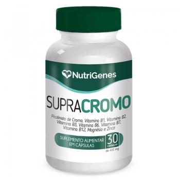 Supra Cromo 30 cápsulas | Nutrigenes