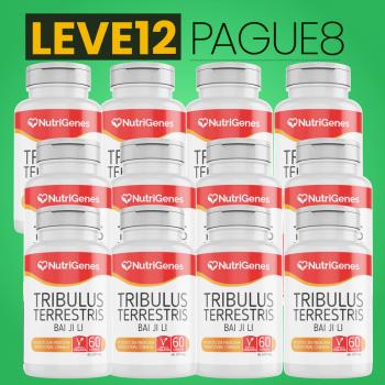 Tribulus Terrestris 60 cápsulas | Nutrigenes - Leve 12, Pague 8