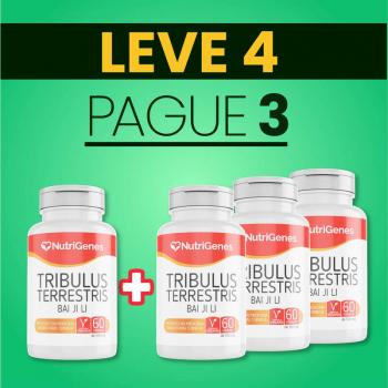 Tribulus Terrestris 60 cápsulas | Nutrigenes - Leve 4, Pague 3