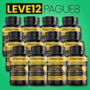 Trio Cardio Essencial 90 cápsulas | Nutrigenes - Leve 12, Pague 8