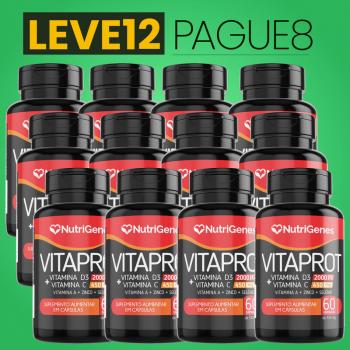 Vitaprot 60 cápsulas | Nutrigenes - Leve 12, Pague 8