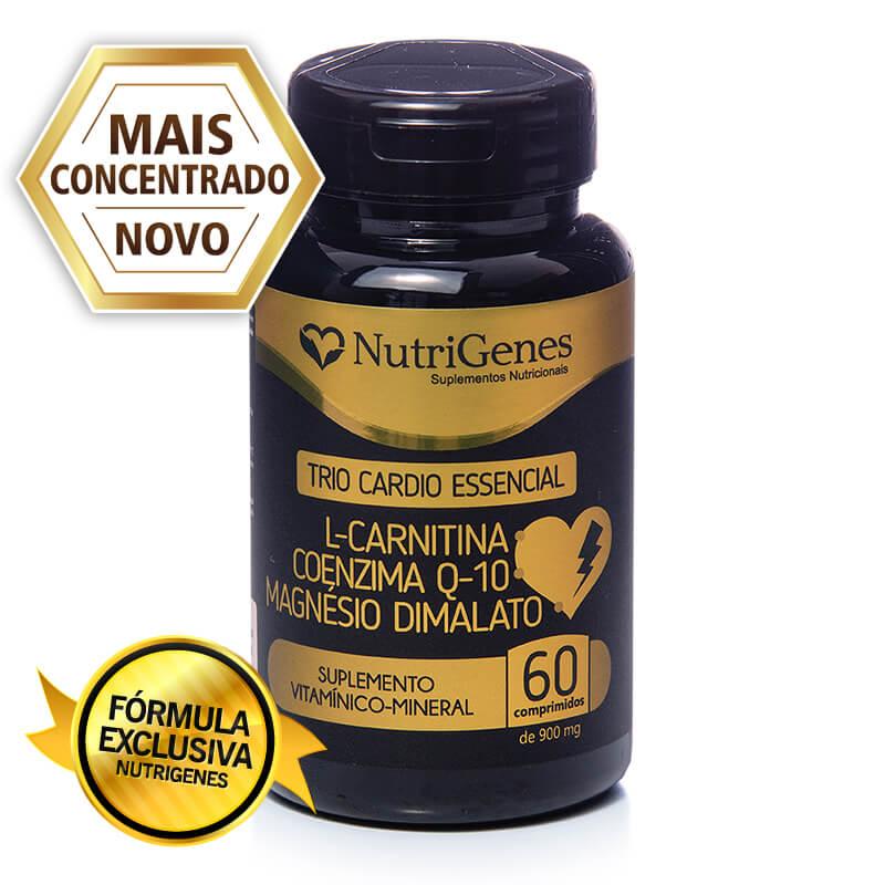 Trio Cardio Essencial 60 comprimidos | Nutrigenes