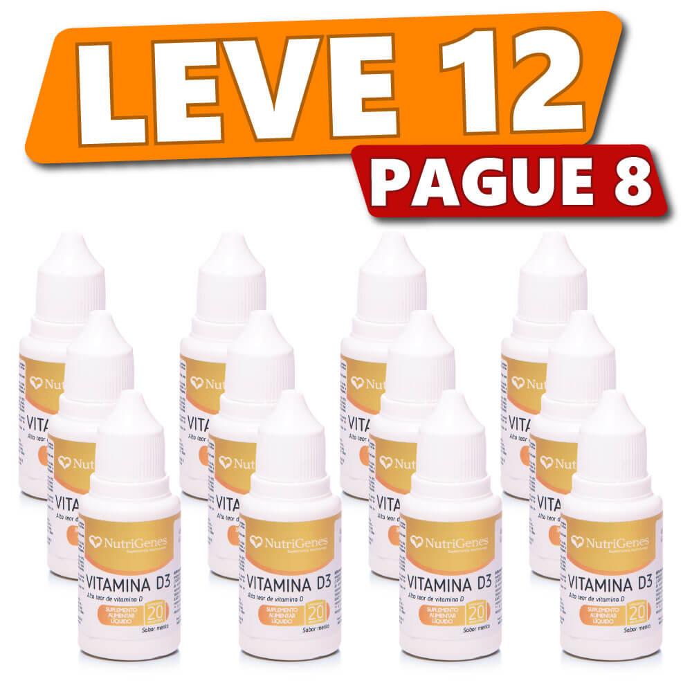 Vitamina D3 Gotas (12 produtos)